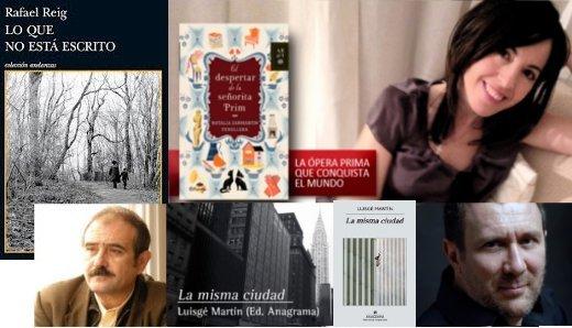 escritores en el curso de edición